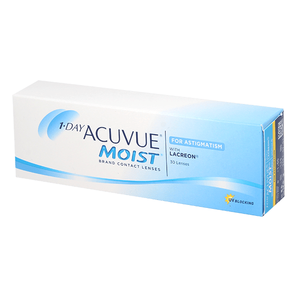 Image of 1-Day Acuvue Moist 30 for Astigmatism