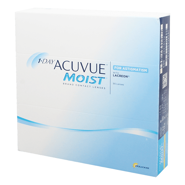 Image of 1-Day Acuvue Moist 90 for Astigmatism