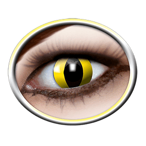 White contact lenses gelb (Yellow Cat)