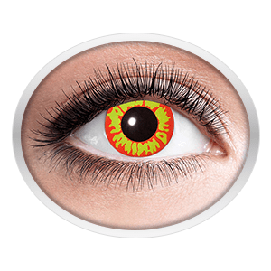 Fantasy contact lenses (Ork)