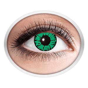 green contact lenses (Reptil)