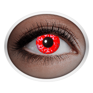 Red contact lenses (UV Red Diamond)