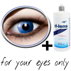 blue contact lenses (Ocean Crazy) product image