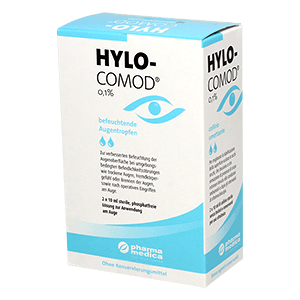 Hylo Comod eye drops - 2 x 10ml product image