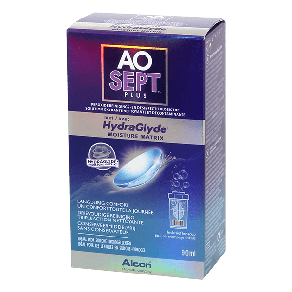 AOSEPT PLUS with HydraGlyde 90ml