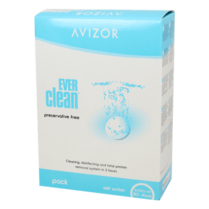 Avizor EVERclean 2x350ml und 90 Tabletten product image