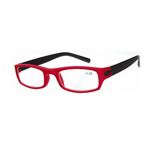 Reading Glasses Bern red
