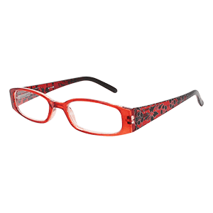 Reading Glasses London red