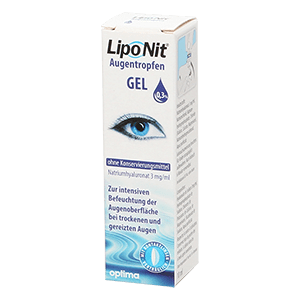 Lipo Nit Gel Eye Drops 10 ml product image
