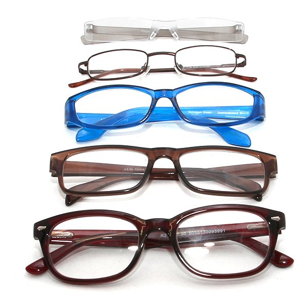 Assorted reading glasses in a savings package product image