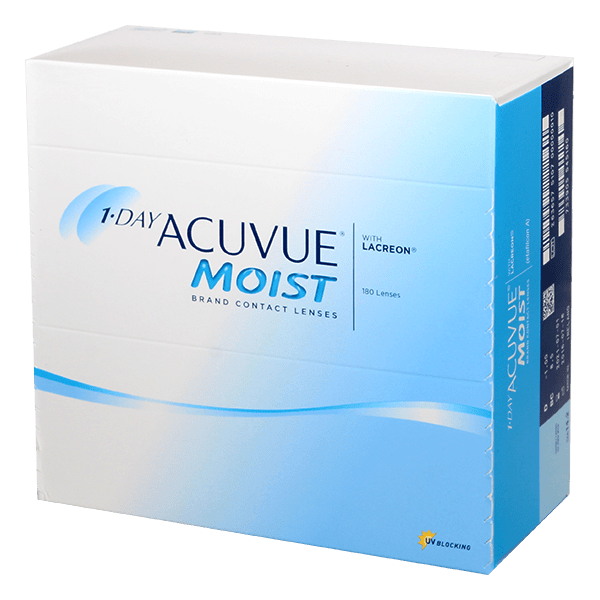 Image of 1-Day Acuvue Moist 180