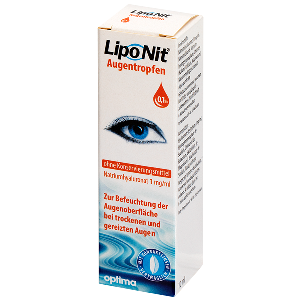 Lipo Nit collyre 10ml