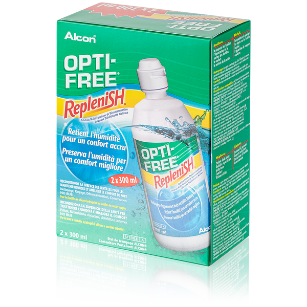 OptiFree RepleniSH - 2 x 300ml
