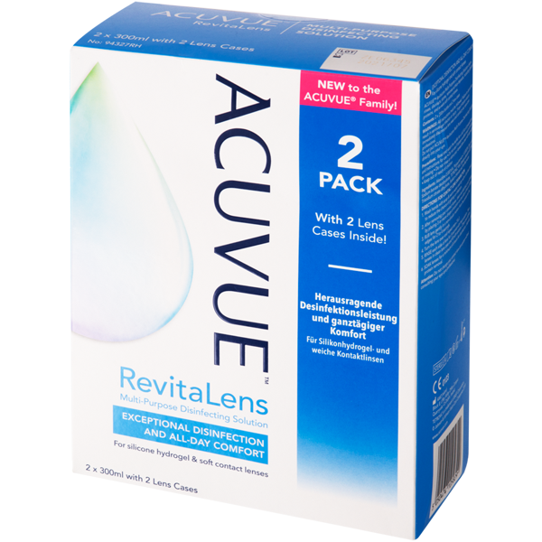 ACUVUE RevitaLens 2x300ml