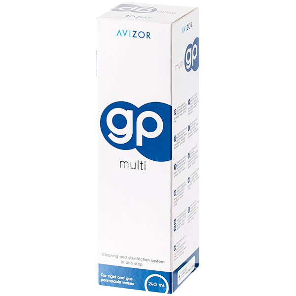 Avizor GP Multi 240ml solution tout-en-un