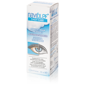 Naviblef Daily Care Foam for the Eyelids 50ml