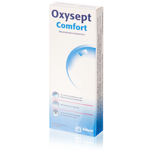 Oxysept Comfort 12 neutralizing tablets