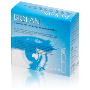 Biolan Collyre 20x0.35ml