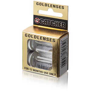 Golden contact lenses (Gold Sparkle)