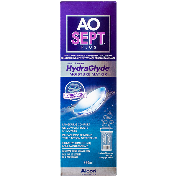 AOSEPT PLUS con HydraGlyde - 360ml