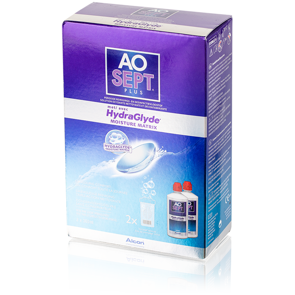 AOSEPT PLUS con HydraGlyde - 2 x 360ml